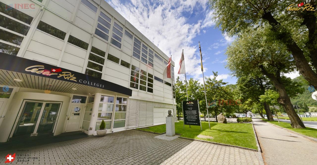 Cao đẳng César Ritz khu học xá Brig. Ảnh: César Ritz Colleges