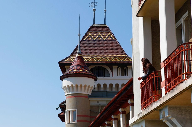 Tầm nhìn tuyệt đẹp tại SHMS cơ sở Caux Palace