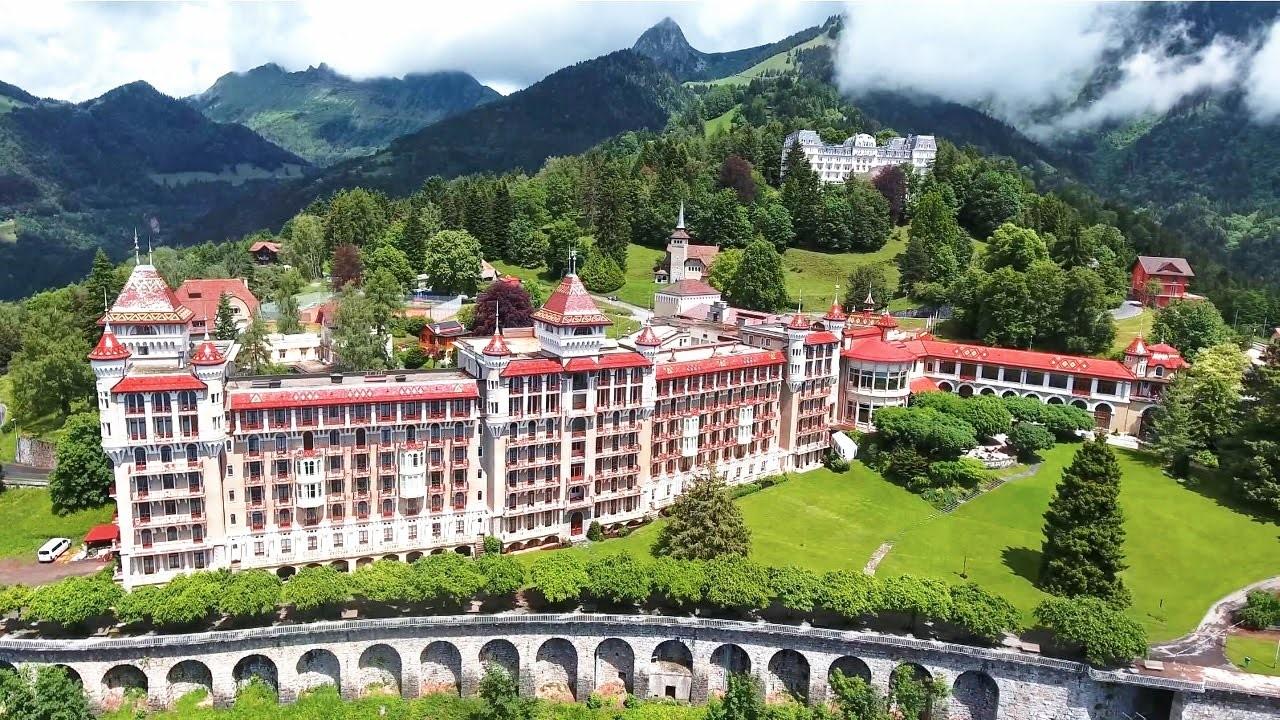 Du học Thụy Sĩ tại Học viện SHMS khu học xá Caux