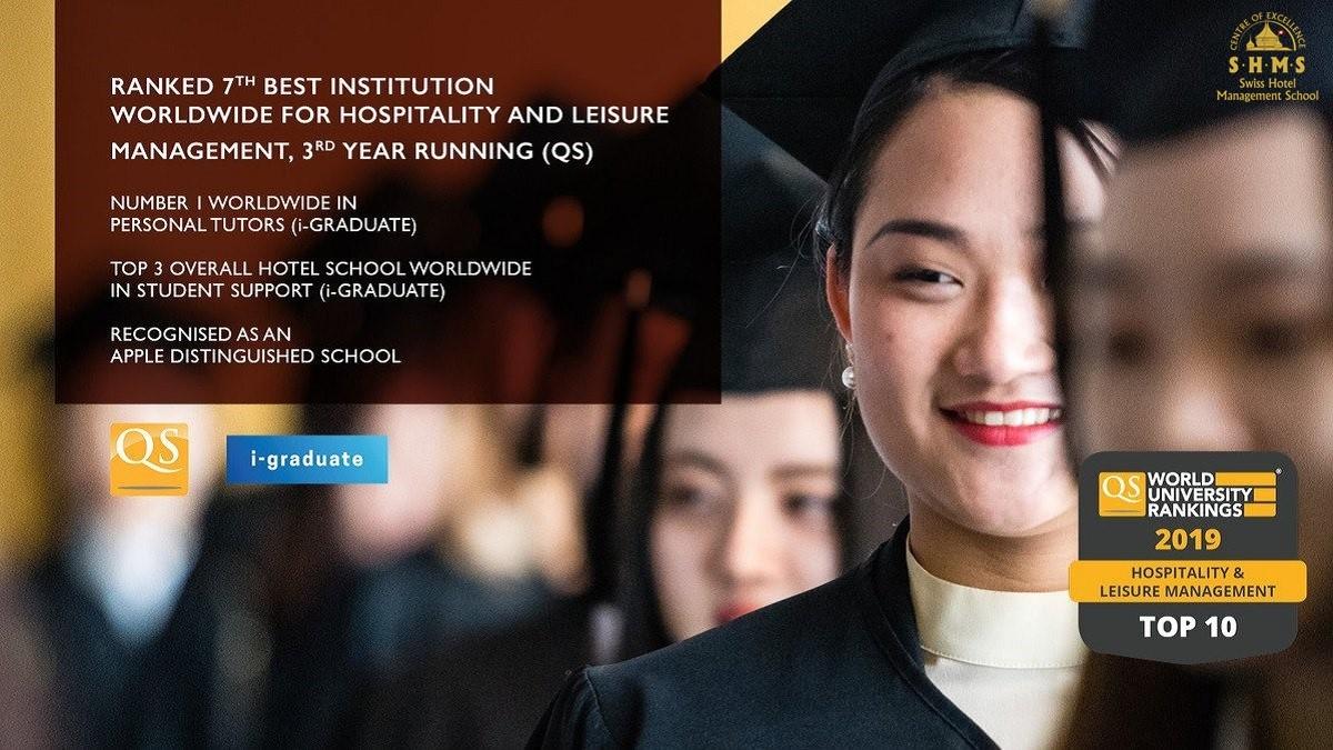 Những xếp hạng thêm khẳng định danh tiếng giáo dục của Học viện SHMS