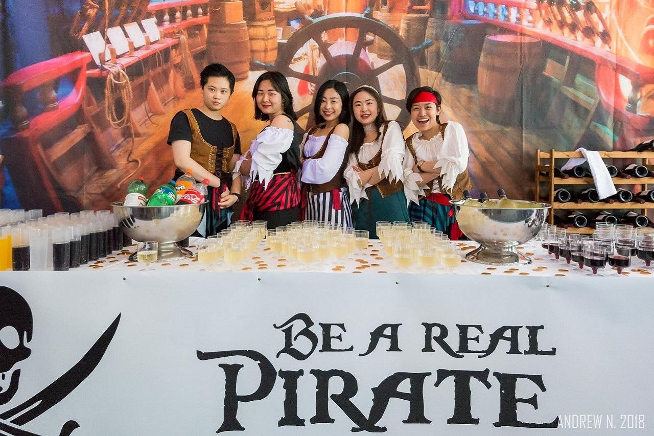 """Một sự kiện với chủ đề """"Pirates of the Caribbean"""" của sinh viên SHMS"""