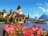 Phong cảnh đẹp ở Thụy sĩ