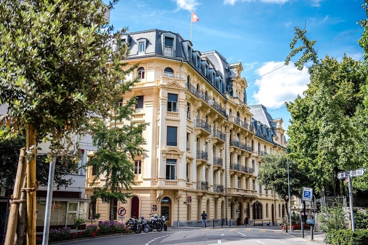 Bối cảnh học tập tại Học viện Khách sạn Montreux (HIM)