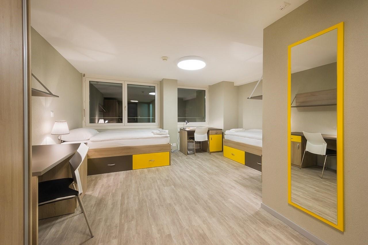 Chỗ ở của sinh viên Học viện Khách sạn Montreux (HIM) ngay trong khuôn viên trường