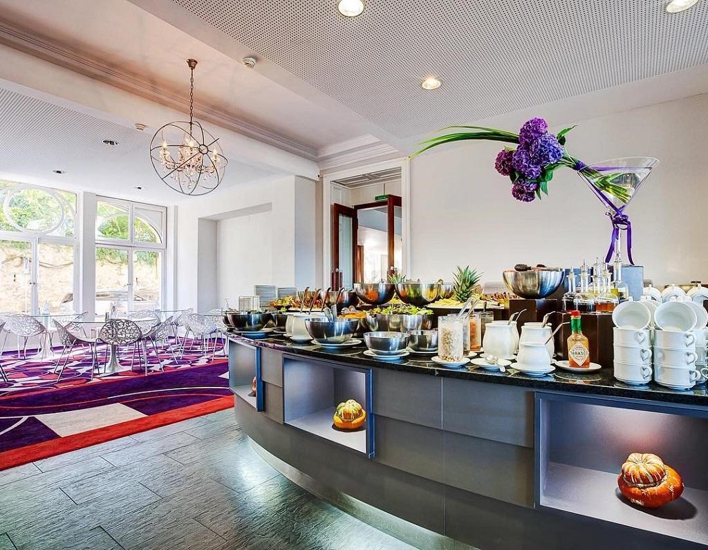 Nhà hàng tại Học viện Khách sạn Montreux