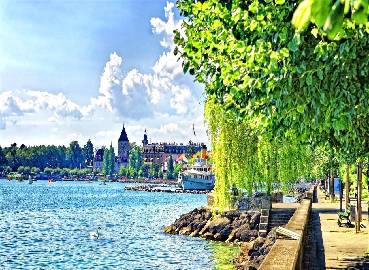 """Montreux – thành phố xinh đẹp """"đốn tim"""" biết bao du khách"""