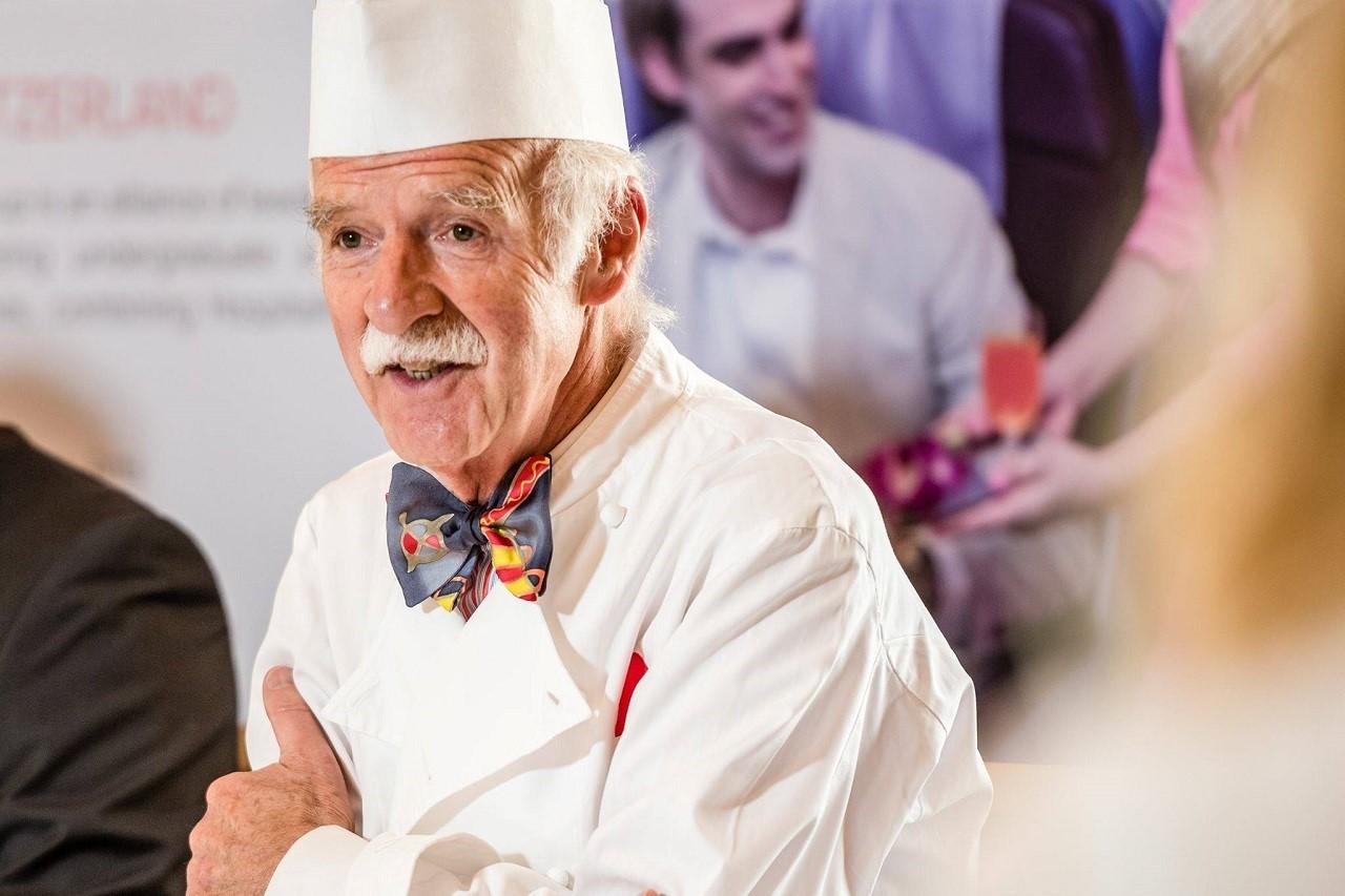 Chuyên gia ẩm thực, đầu bếp 2 sao Michelin Anton Mosimann