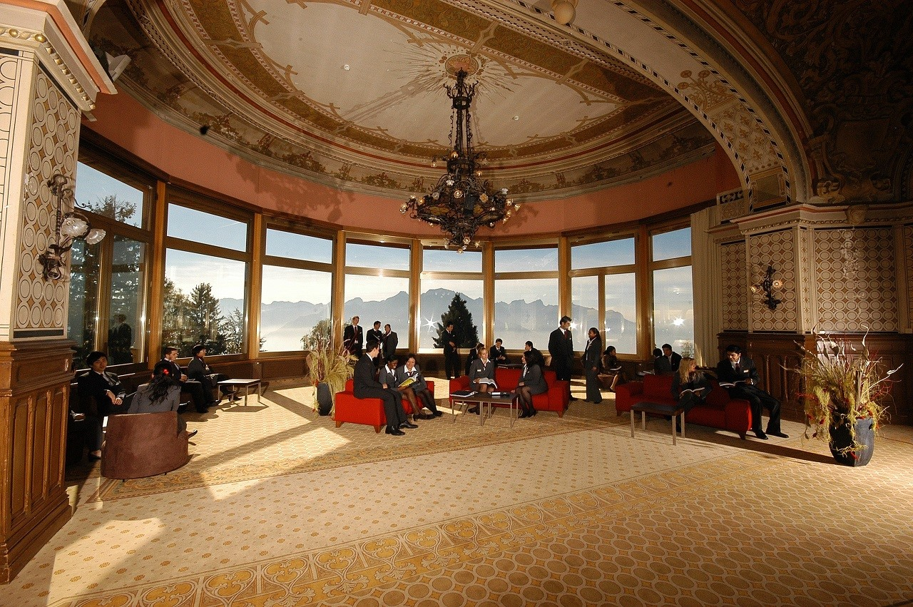Bạn sẽ được trải nghiệm không gian đẳng cấp như thế này khi du học Thụy Sĩ ngành nhà hàng khách sạn