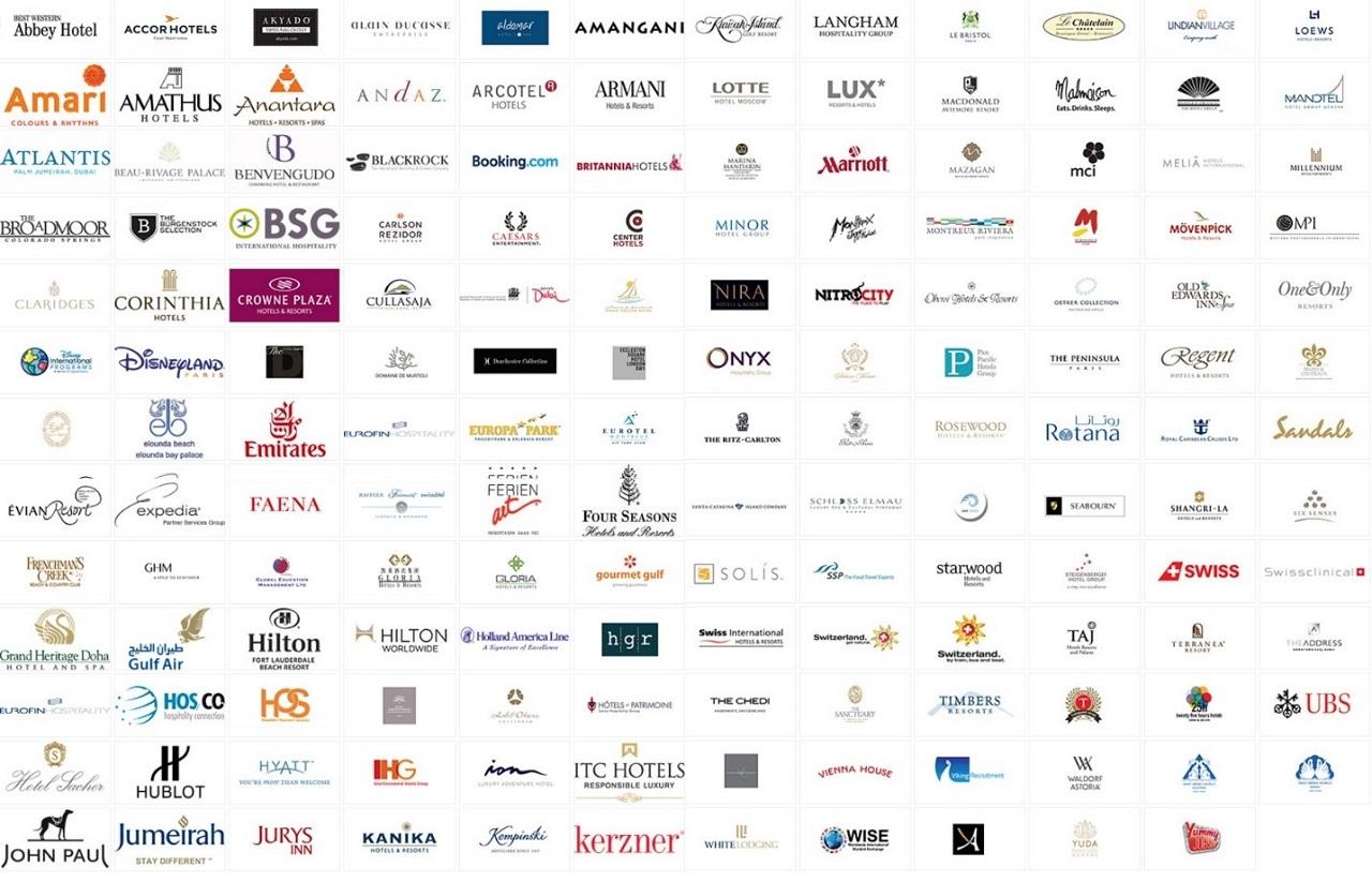 Đối tác của SEG là các tập đoàn nhà hàng khách sạn danh tiếng toàn cầu