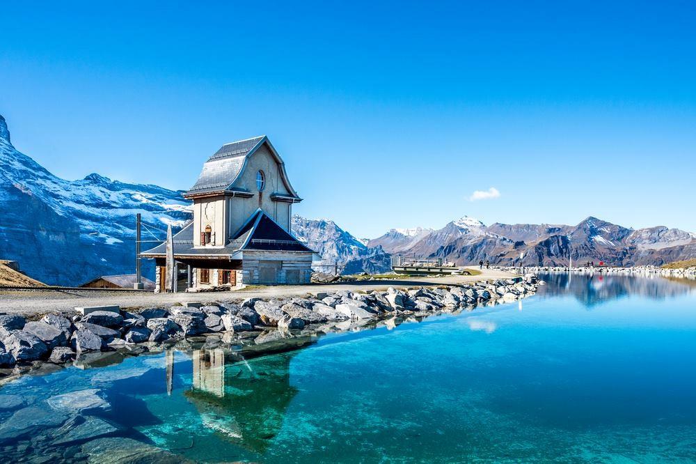 Grindelwald là khu nghỉ mát lớn nhất trong khu vực Jungfrau. Ảnh: Shutterstock