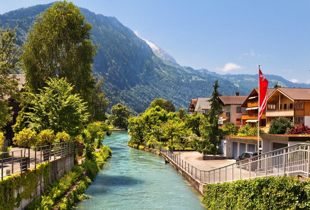 Interlaken sẽ mang đến cho bạn sự thư thái, không khí mát lành