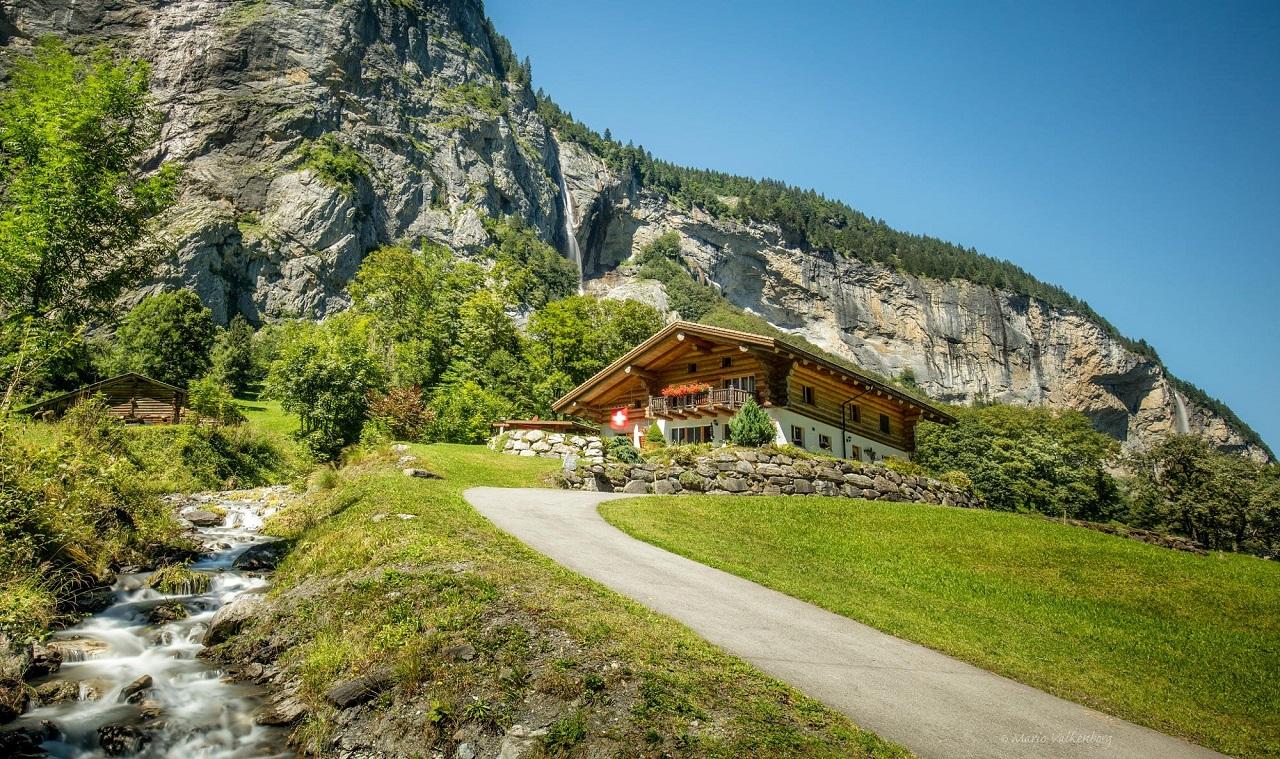 Lauterbrunnen được ví như chốn bồng lai tiên cảnh của đất nước Thụy Sĩ