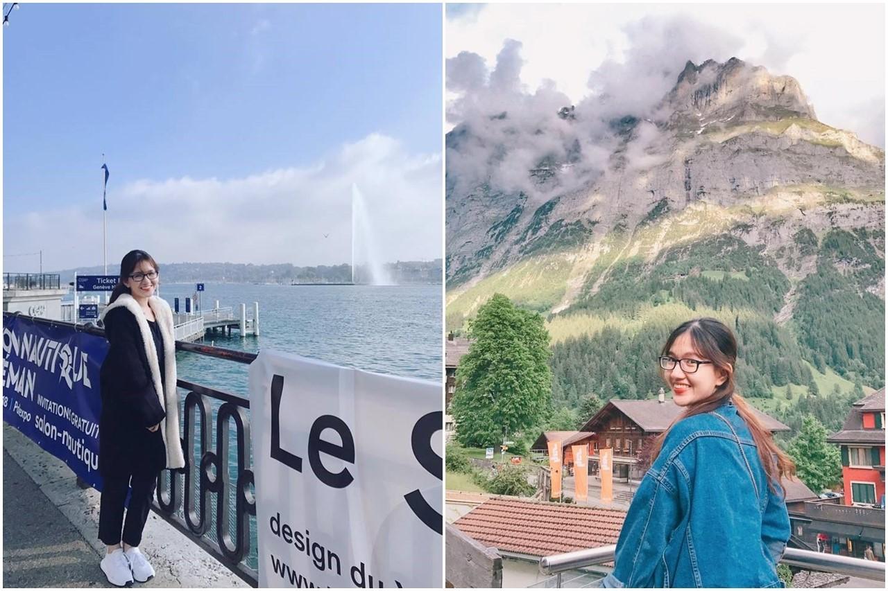 Sinh viên INEC tại Thụy Sĩ - Trần Nguyễn Nhật Linh