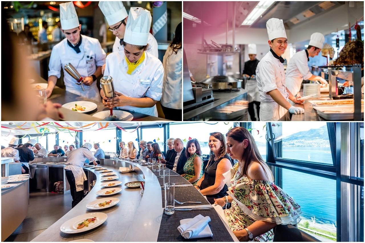 Đây là một sự kiện ẩm thực quốc tế do sinh viên năm cuối Học viện CAA tổ chức, điều phối