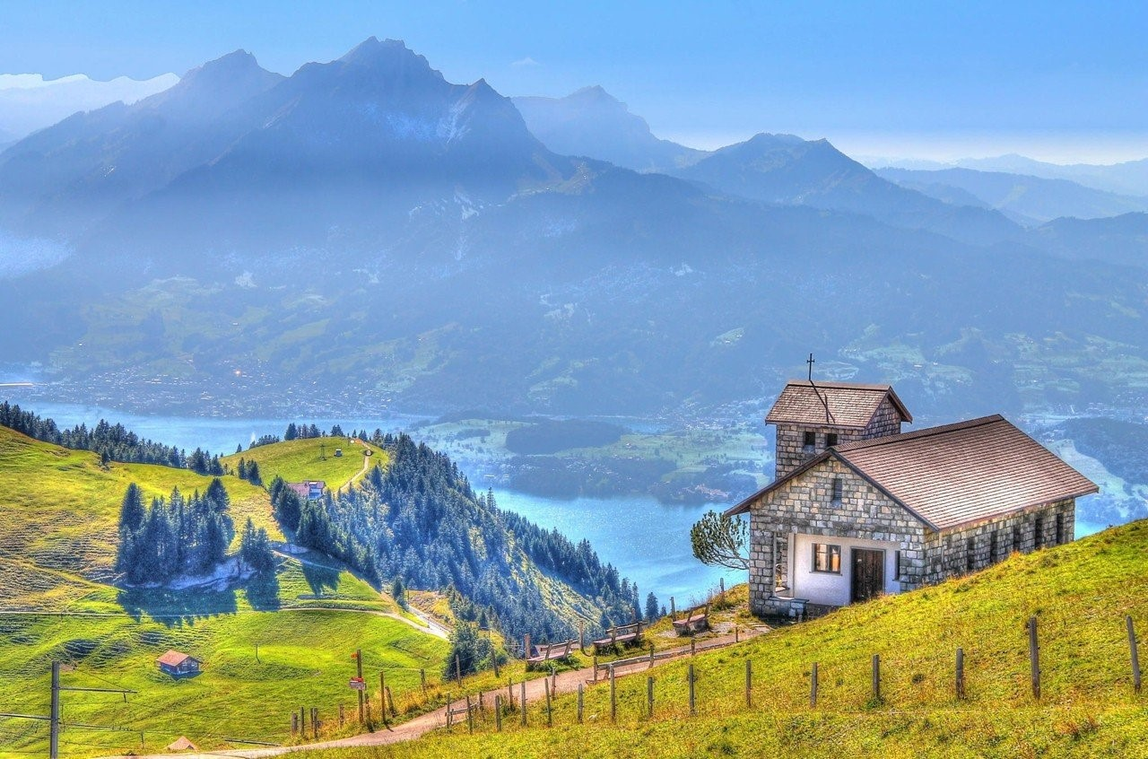 Phong cảnh như cổ tích của Lucerne