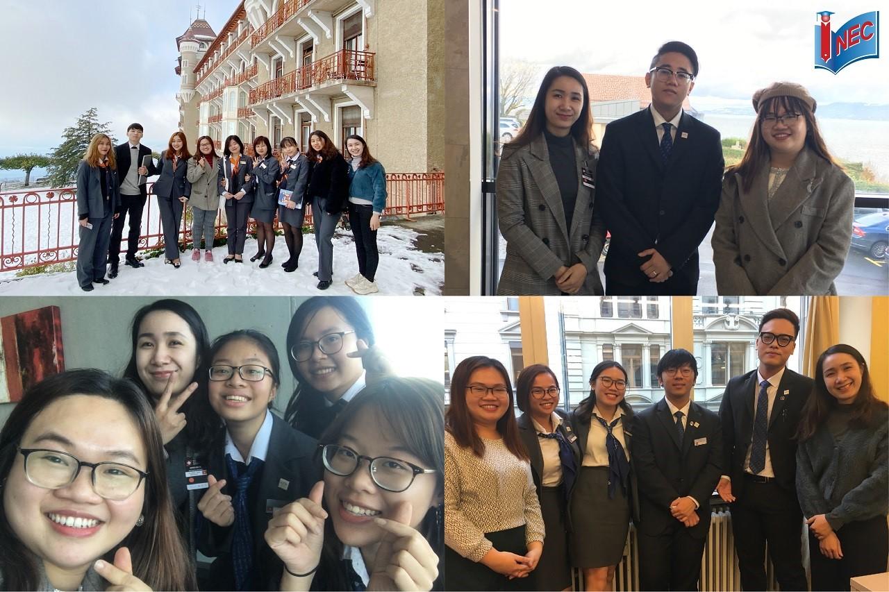 INEC thăm du học sinh Việt Nam tại Thụy Sĩ