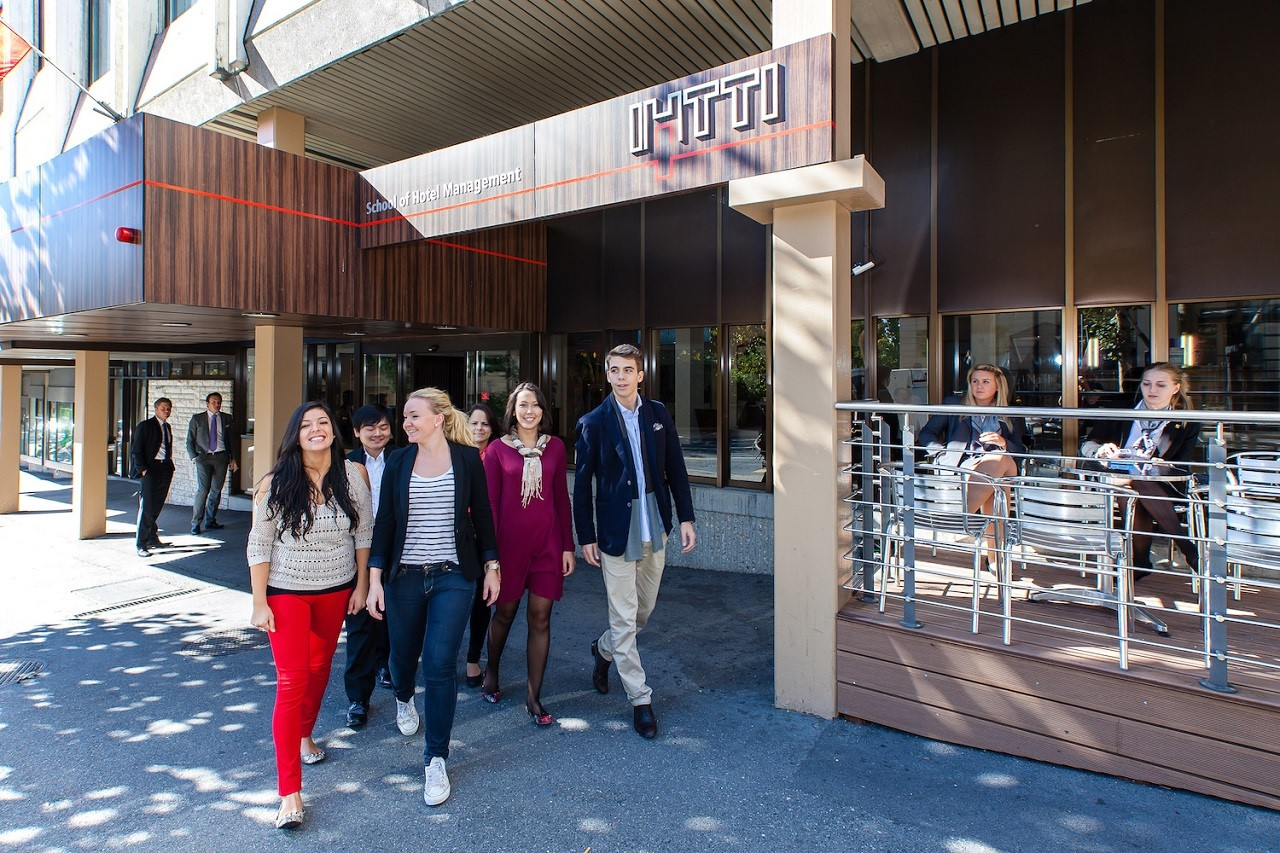 Môi trường học tập tại IHTTI thân thiện, mang tính quốc tế