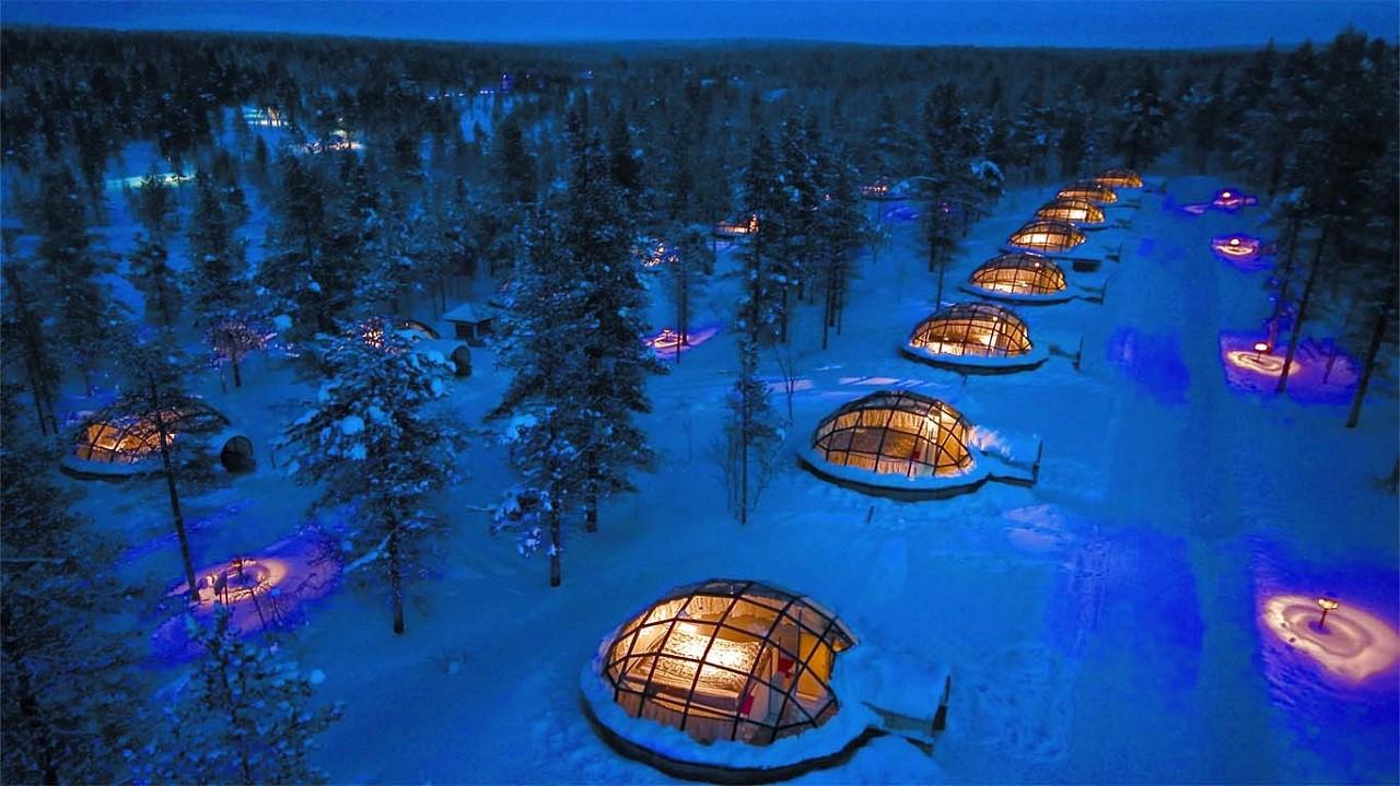Khách sạn Kakslauttanen với thiết kế độc đáo ở Phần Lan