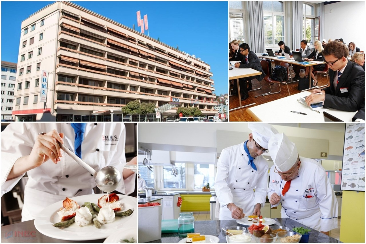 Tốt nghiệp từ BHMS, sinh viên có cơ hội nhận cùng lúc 2 bằng do Thụy Sĩ và Anh hoặc Mỹ cấp
