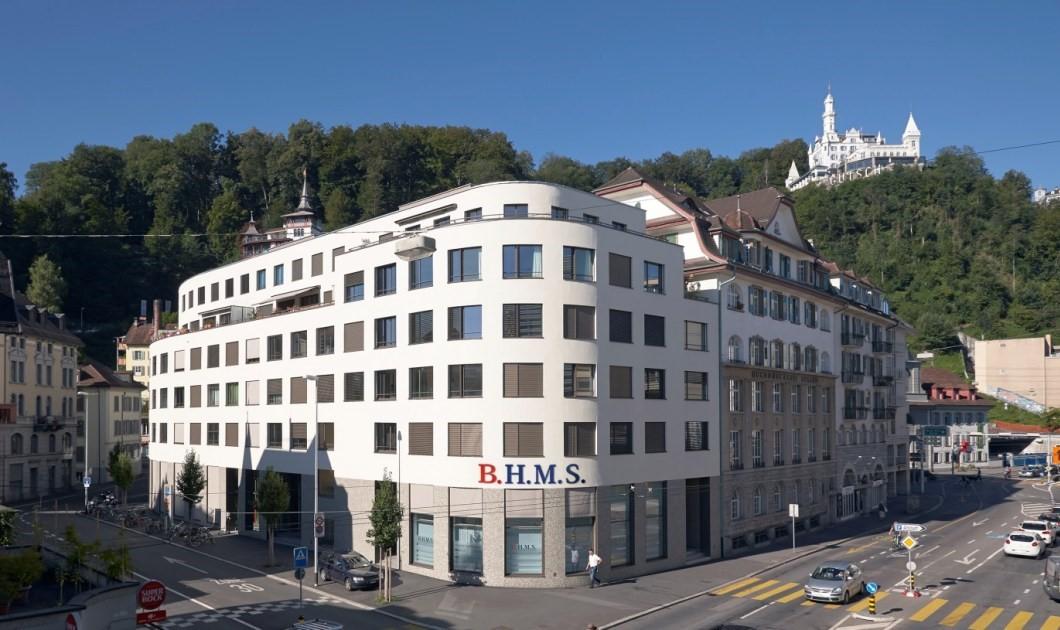Học viện BHMS tọa lạc ngay trung tâm thành phố Lucerne