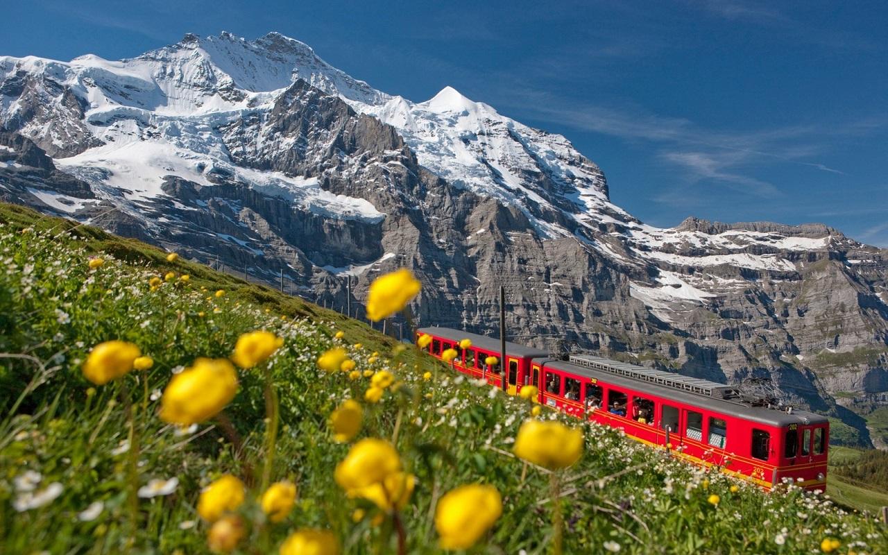 Thụy Sĩ sở hữu hệ thống cảnh quan tự nhiên trù phú