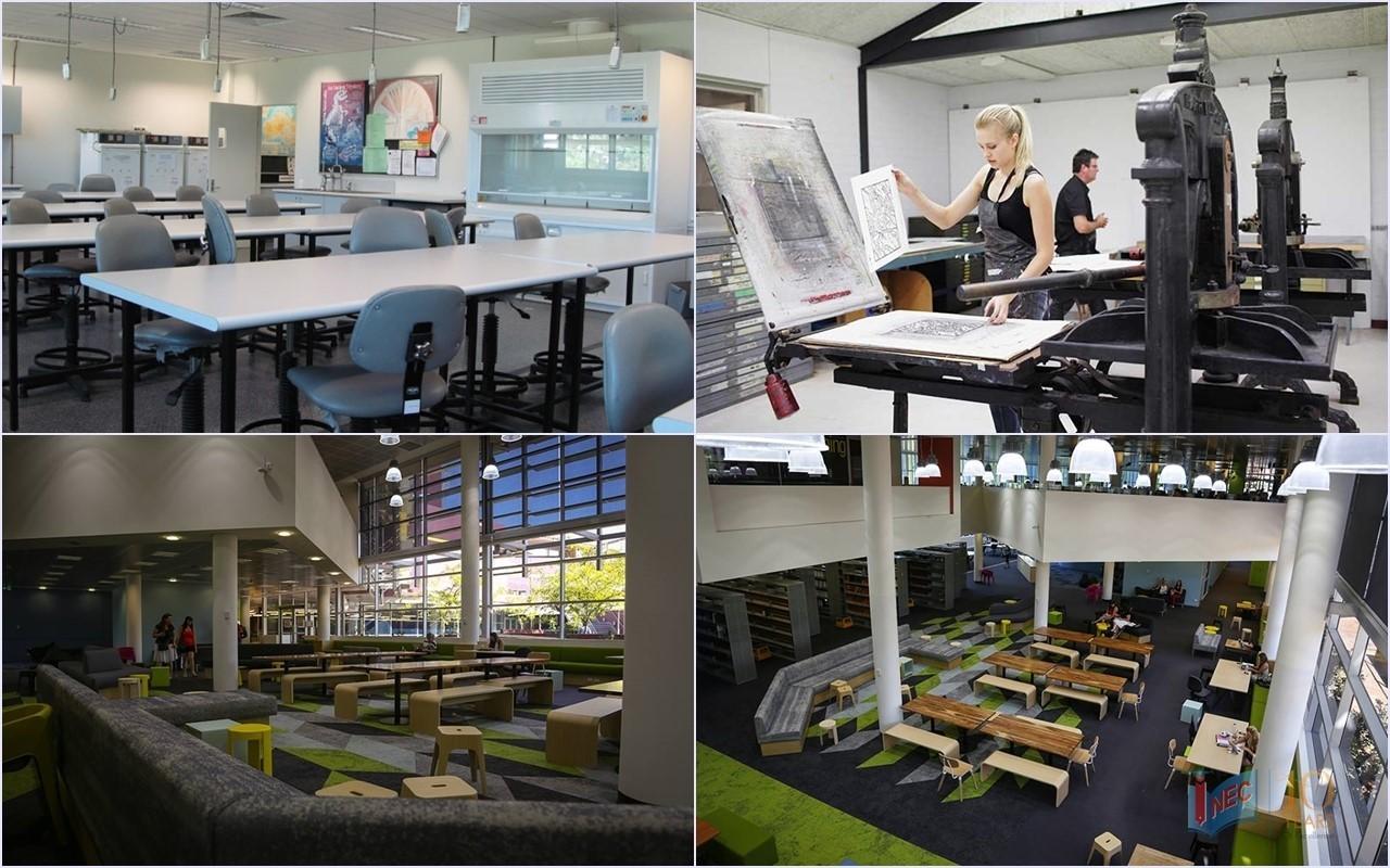 ECU đã mạnh tay chi hàng triệu AUD cho hệ thống cơ sở vật chất học thuật