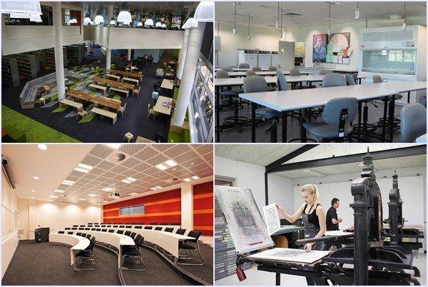 Cơ sở vật chất phục vụ học tập của trường
