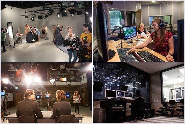 Cơ sở vật chất phục vụ học tập ngành Truyền thông