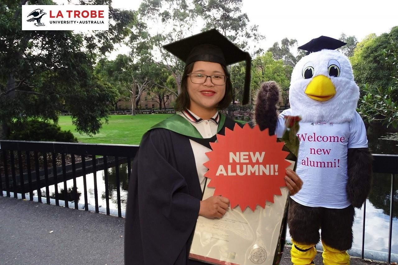 Thái Thị Thanh Trúc - Cựu sinh viên ngành nông nghiệp Đại học La Trobe đang sống và làm việc tại Úc