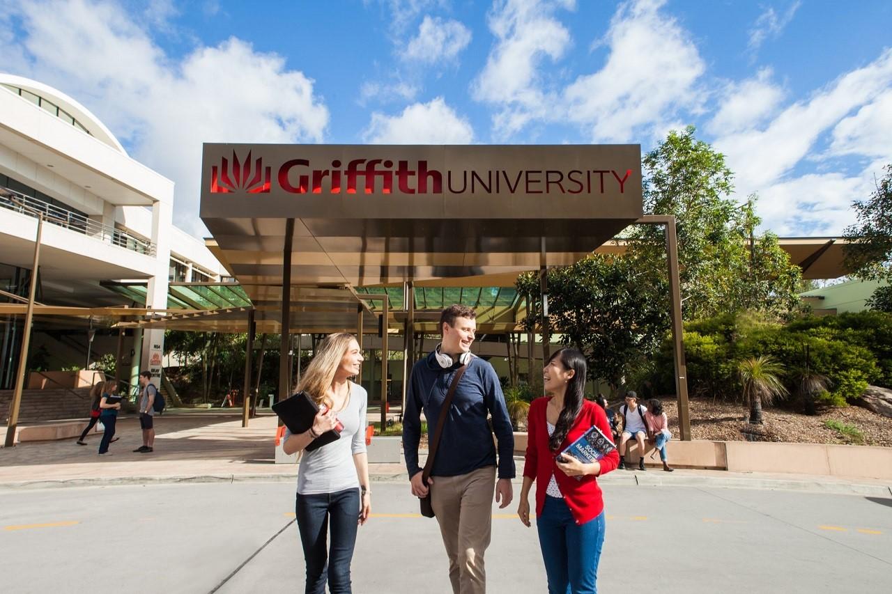 Kết quả hình ảnh cho Đại học Griffith