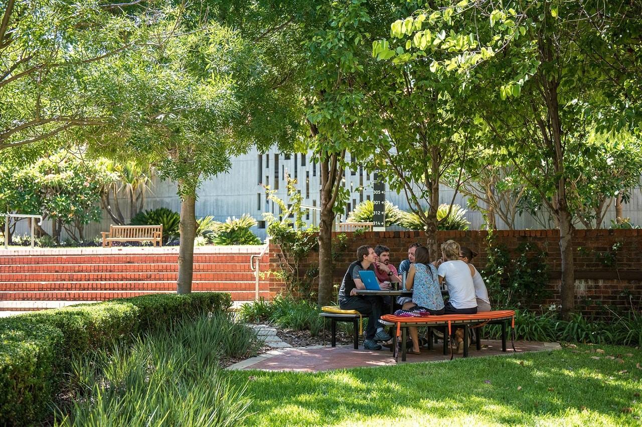Khu học xá của Curtin được thiết kế mở, gần gũi với thiên nhiên, mang đến cảm hứng học tập bất tận cho sinh viên