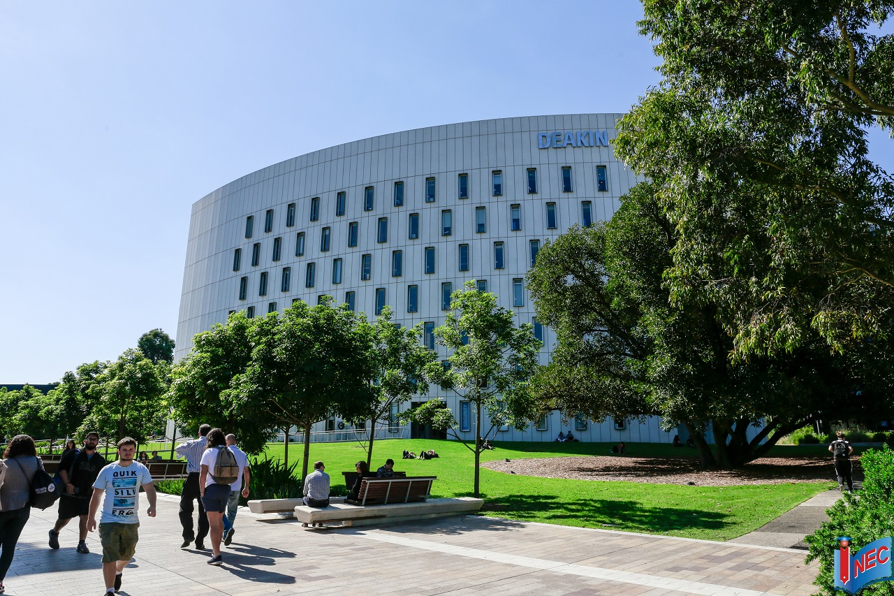 học bổng du học Úc tại Đại học Deakin