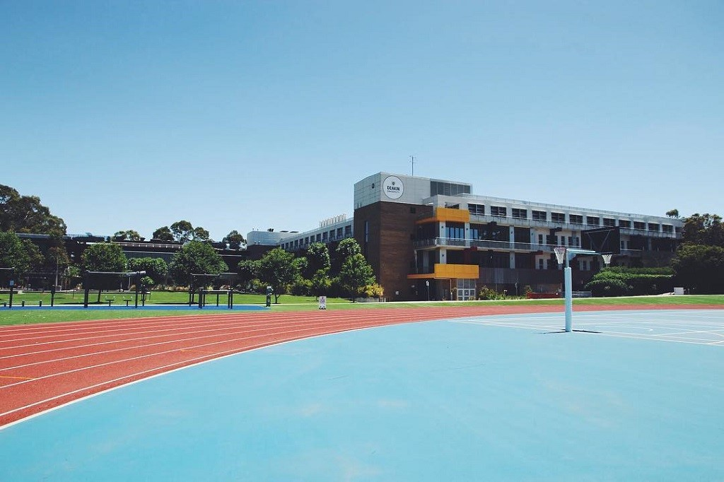 Một góc bên trong trường Deakin