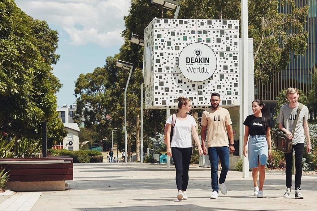 Đại học Deakin đang là điểm đến học tập hấp dẫn của sinh viên quốc tế