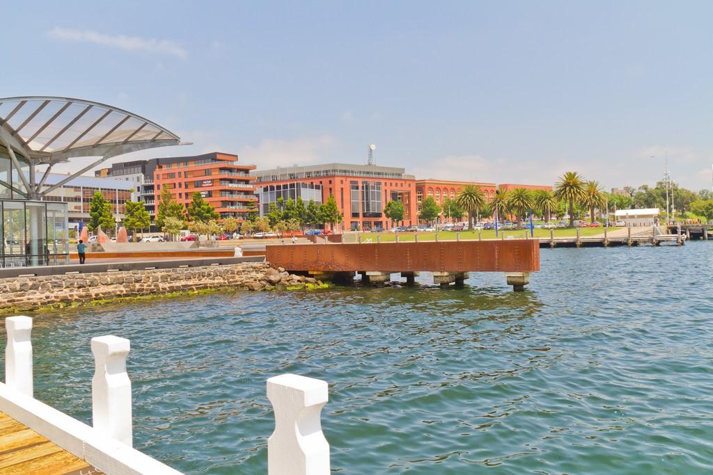 Khu học xá tại Waterfront của Đại học Deakin