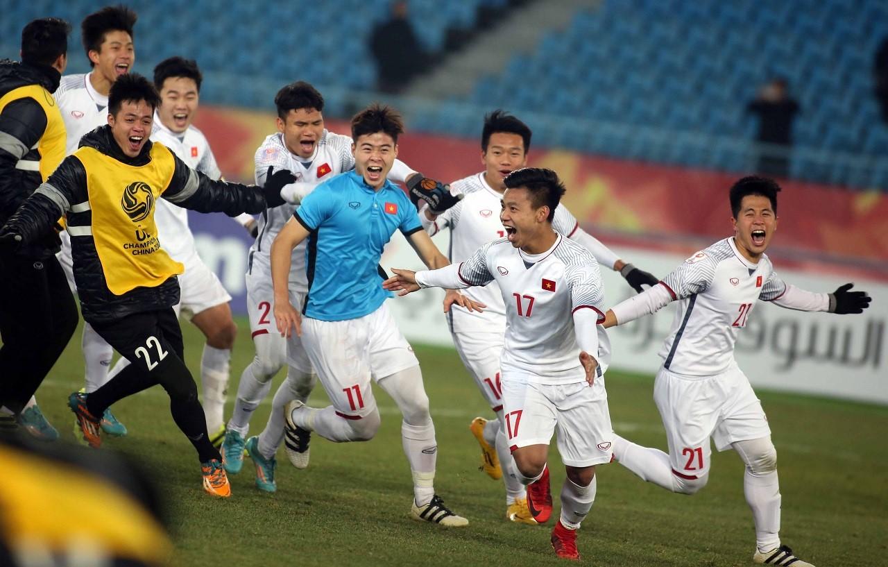Du học Úc ngành thể thao tại Đại học Deakin - U-23 Việt Nam trong chiến thắng trước U-23 Qatar