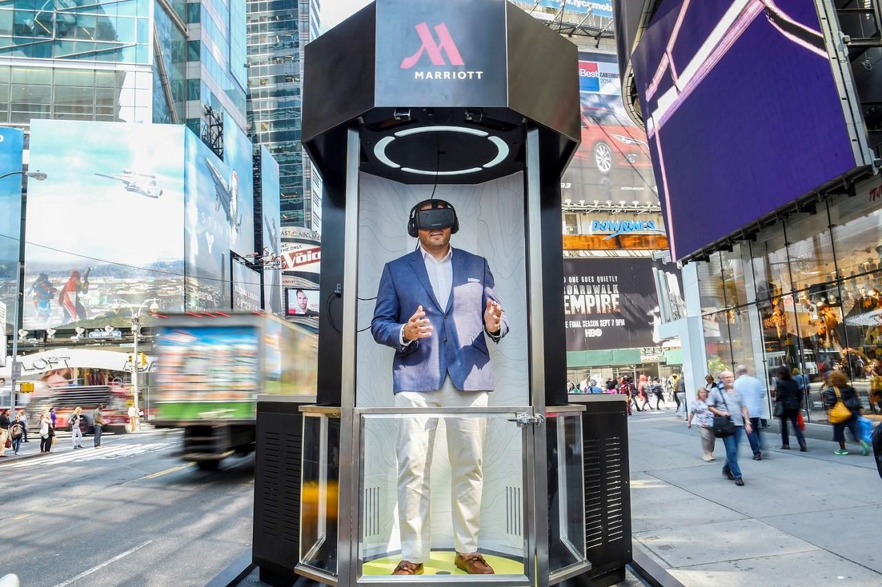 Trải nghiệm du lịch kiểu mới thông qua công nghệ thực tế ảo của Marriott