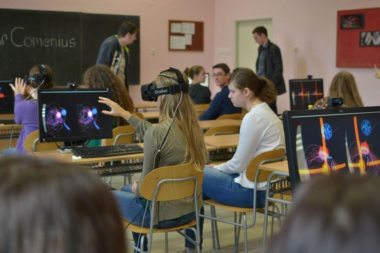 Thực tế ảo được ứng dụng rộng rãi trong giáo dục