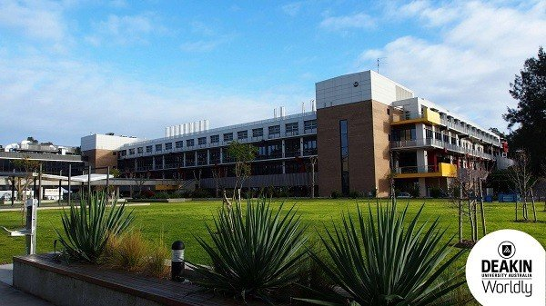 Khuôn viên trường Đại học Deakin du học Úc