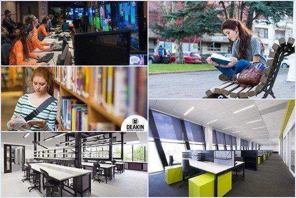 Deakin mang đến môi trường học tập tuyệt vời cho sinh viên du học Úc