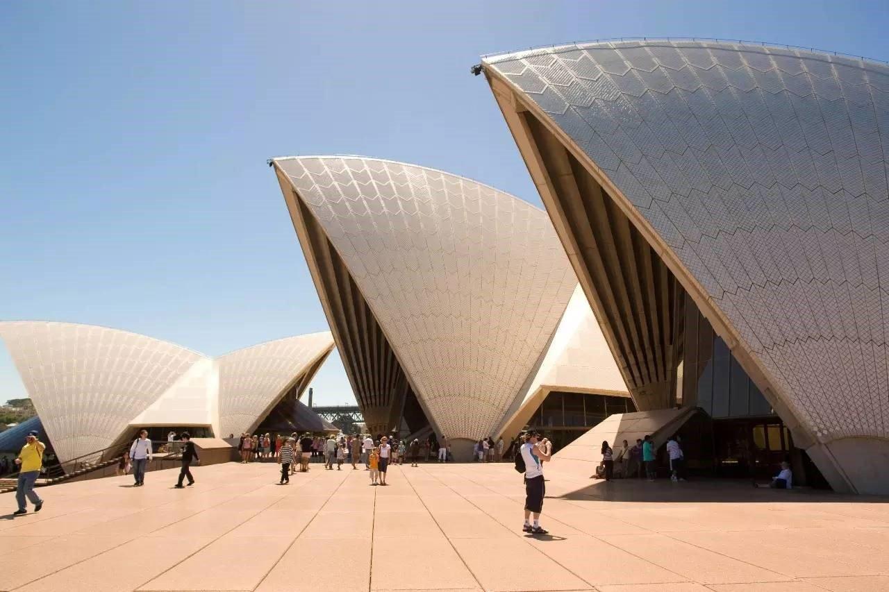 Hình dáng tòa nhà được thiết kế có hình các con sò