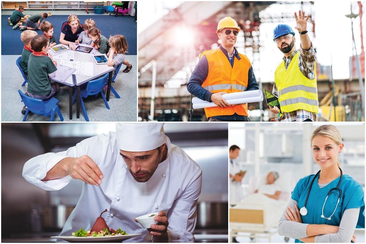 Các ngành nghề đang thiếu hụt lao động tại Úc