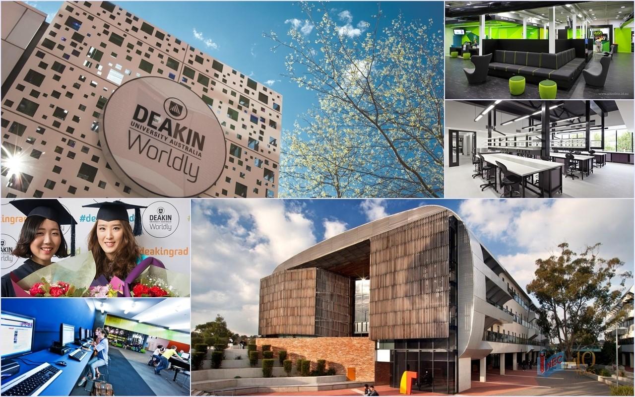 Du học ngành tài chính ngân hàng tại Úc: Đại học Deakin