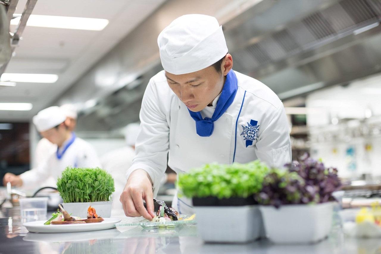 Tại Wellington, bạn sẽ được học các chương trình Ẩm thực, Nhà hàng khách sạn