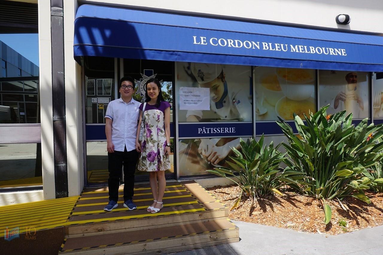 Đại diện INEC trong chuyến thăm trường Le Cordon Bleu Úc tháng 12/2016