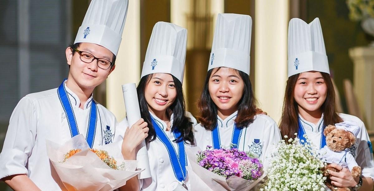 Các khóa học ẩm thực tại Le Cordon Bleu Adelaide có thời gian đào tạo ngắn hơn so với các cơ sở khác