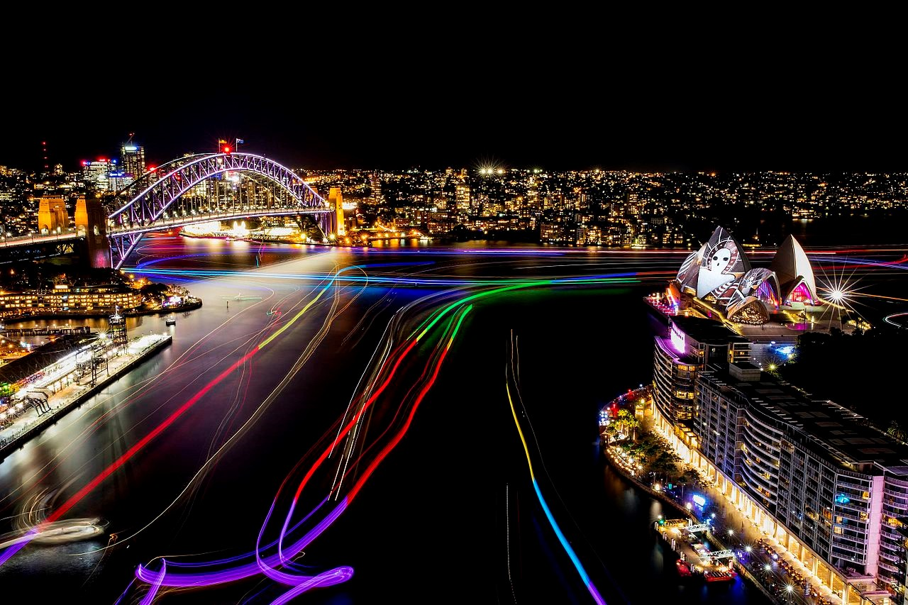 Vivid Sydney – lễ hội ánh sáng, âm nhạc, ý tưởng lớn nhất thế giới
