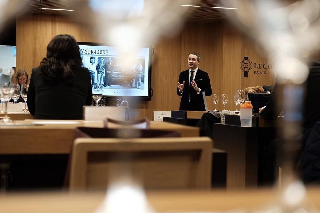 Lớp học rượu vang tại Le Cordon Bleu