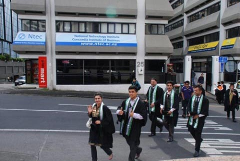 Học viện công nghệ quốc gia New Zealand – NTEC