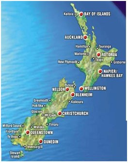 Tổng quan về đất nước New Zealand